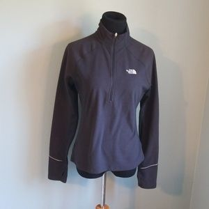 The North Face ladies half zip sweatshirt, M